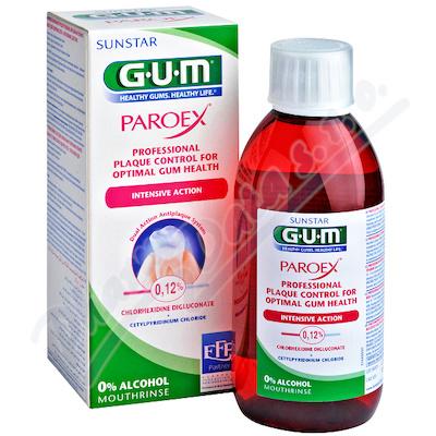 GUM ústní voda Paroex (CHX 0.12%) 300ml G1784EMEA