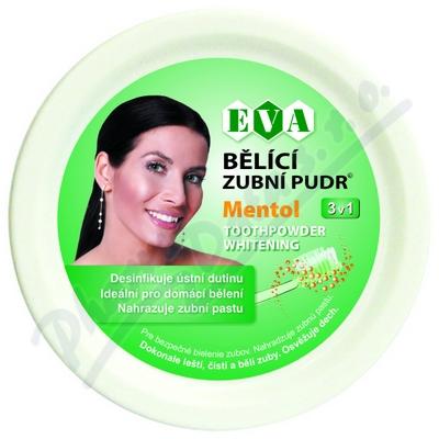 EVA Bělící zubní pudr mentol 30g