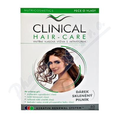 Clinical Hair-Care tob.60+sklen.pilník 2měs.kúra
