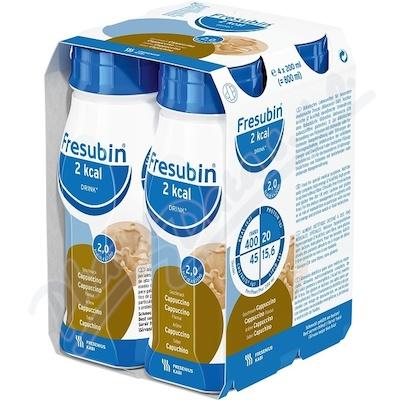 Fresubin 2kcal drink cappuccino por.sol.4x200ml