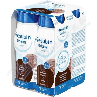 Fresubin original čokoláda por.sol.4x200ml