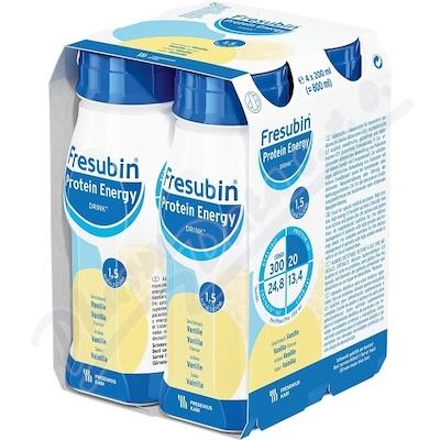 Fresubin Protein Energy vanilka por.sol.4x200ml