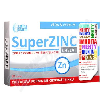 Astina SuperZINC CHELÁT tbl.30