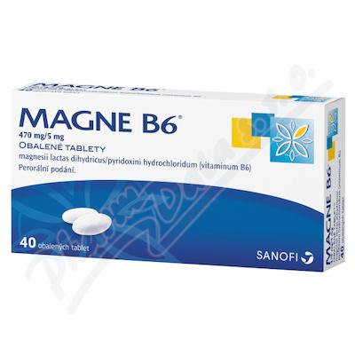 Magne B6 470mg/5mg tbl.obd.40