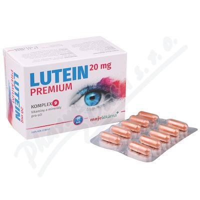 Lutein Premium 20mg tob.60 Moje lékárna