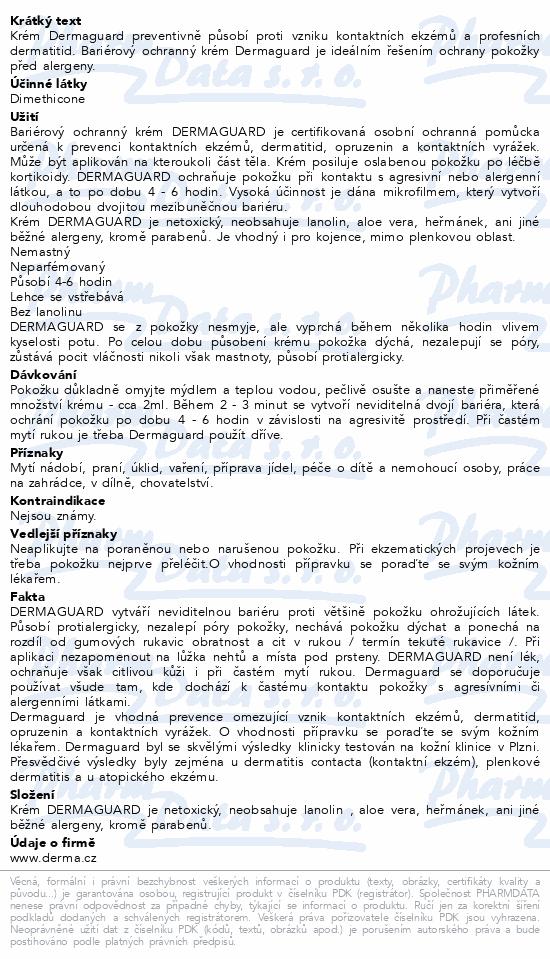 Dermaguard bariérový krém 110ml