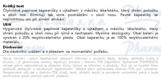 KLEENEX Kapesníky papírové Balsam Hanks 8x9ks