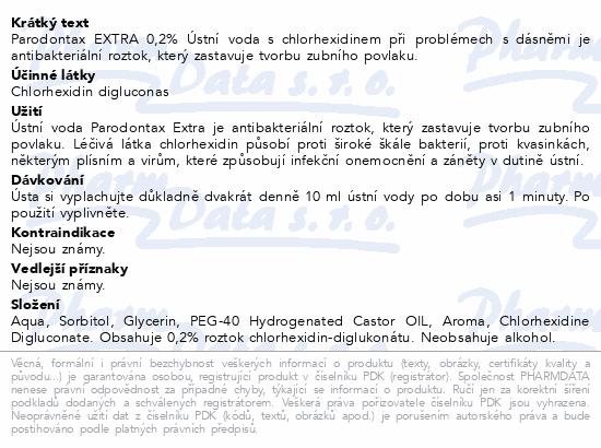 Parodontax Extra 0.2% UV 300ml