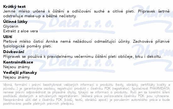 RYOR Pl.mléko čist. Arnika pro such. citl.pl.200ml