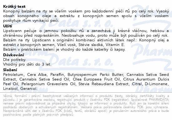 Annabis Lipsticann konopný balzám na rty 15ml